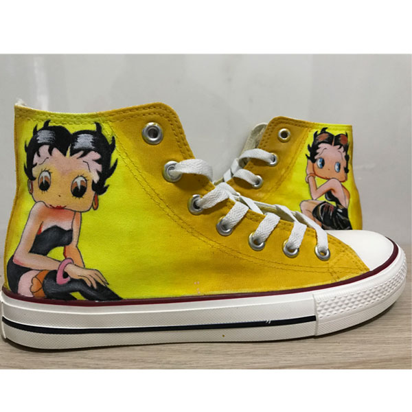 Betty Boop Converse Betty Boop All Star Hand Painted Shoes Custo