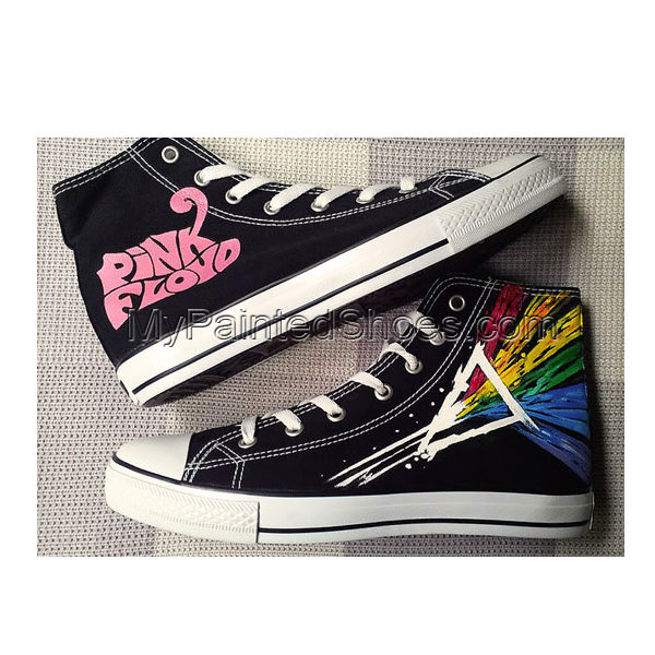 Pink Floyd Custom Shoes Hand Painted Shoes