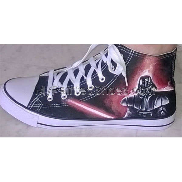 Star Wars hand painted shoes-2