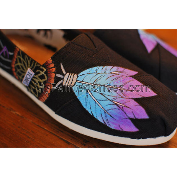 Dream Catcher TOMS Blue Purple TOMS-1