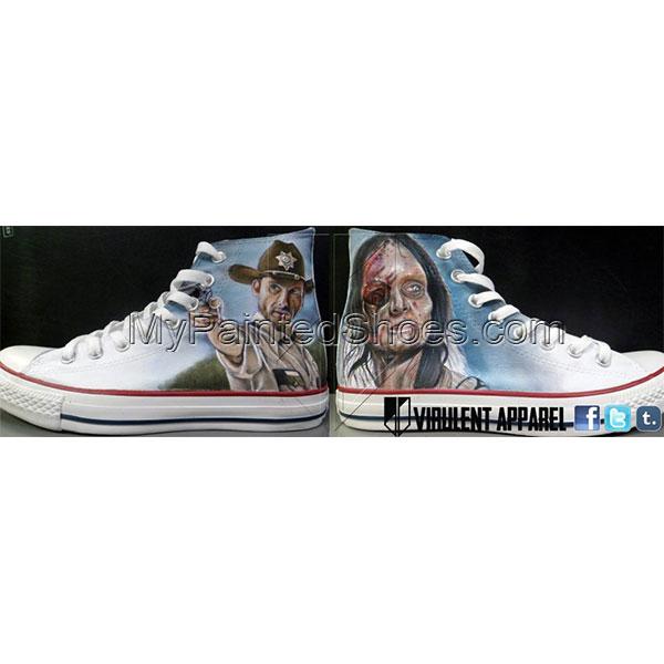 The Walking Dead Converse Shoes