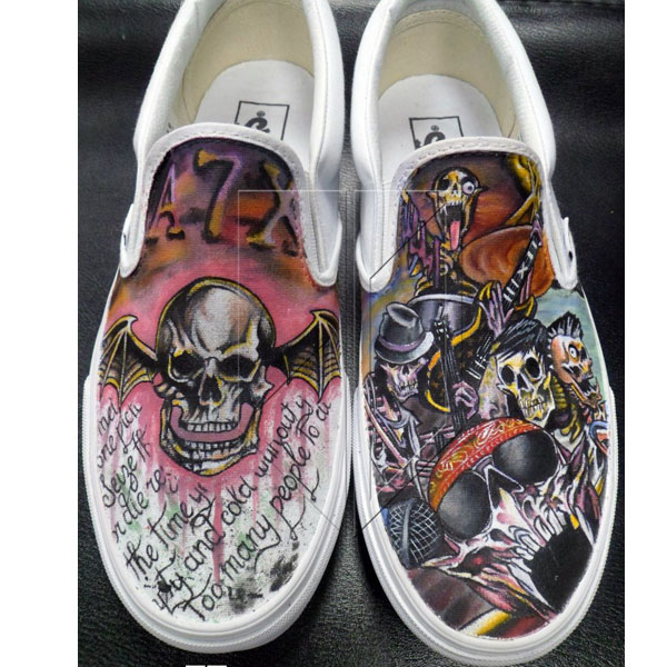 Avenged Sevenfold Converse Shoes
