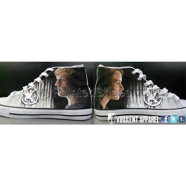 Hunger Games Converse Shoes