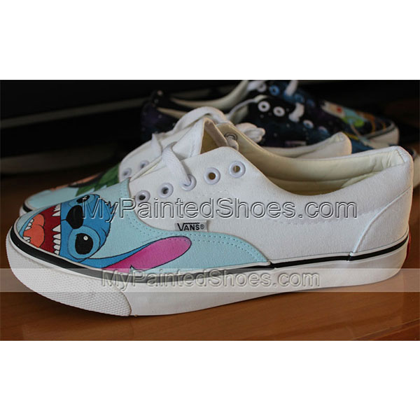 Custom Anime Vans lilo and stitch shoes anime Vans painted shoes-1