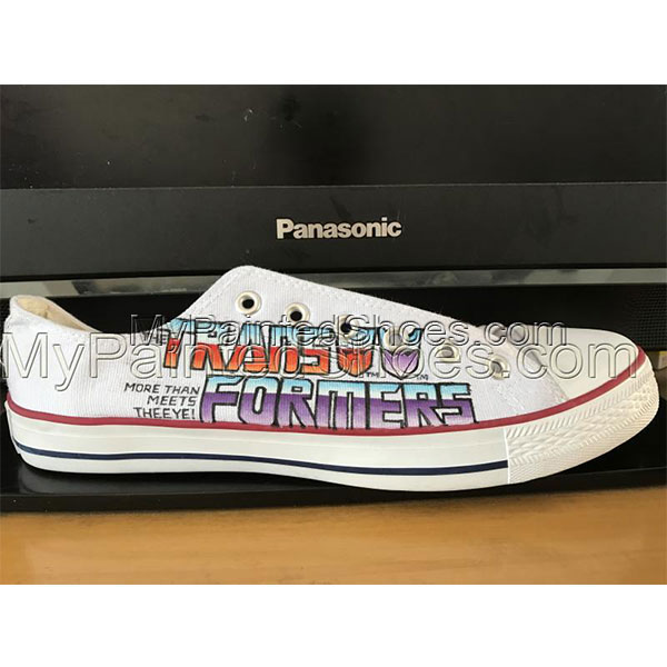 2aa4bef974d69f The Beatles White Converse All Star Shoes Hand Painted Customiza