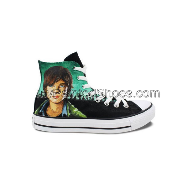 Custom Converse All Star Zombies Hand Painted Men Women High Top-1
