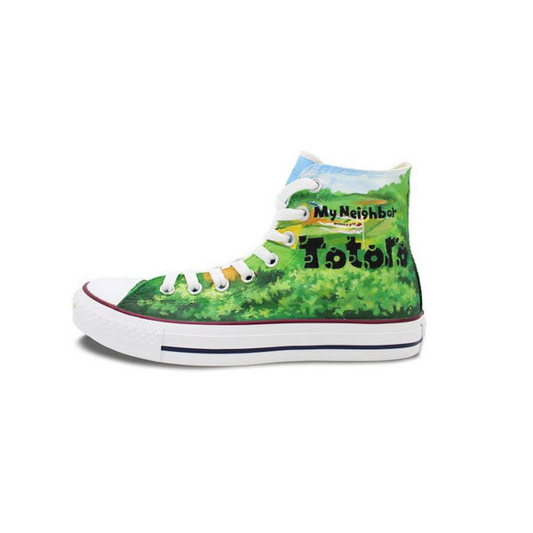 Converse Chuck Taylor Totoro Shoes High Top Neighbor Totoro Pain