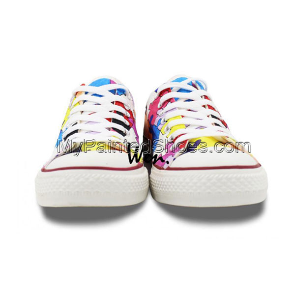 Galaxy Converse Painted Shoes-2
