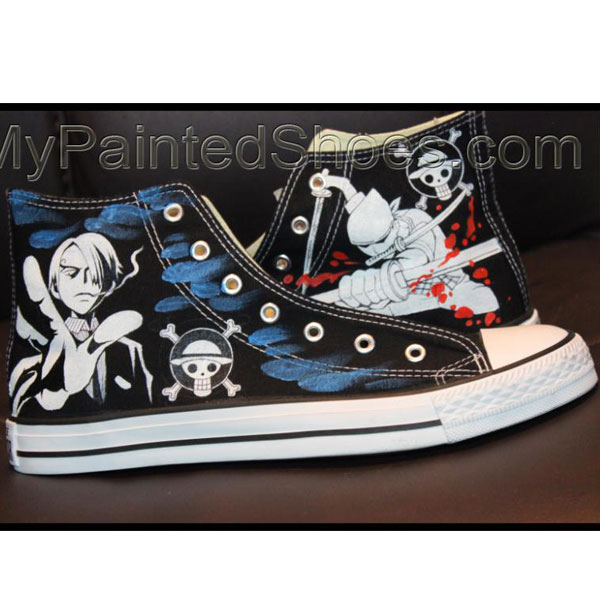one piece High Top Canvas Sneaker-1