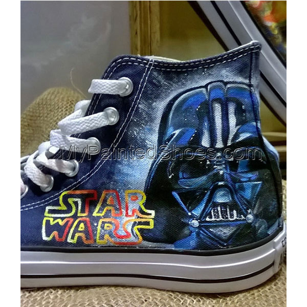 Star Wars hand painted shoes custom Star Wars shoes-2
