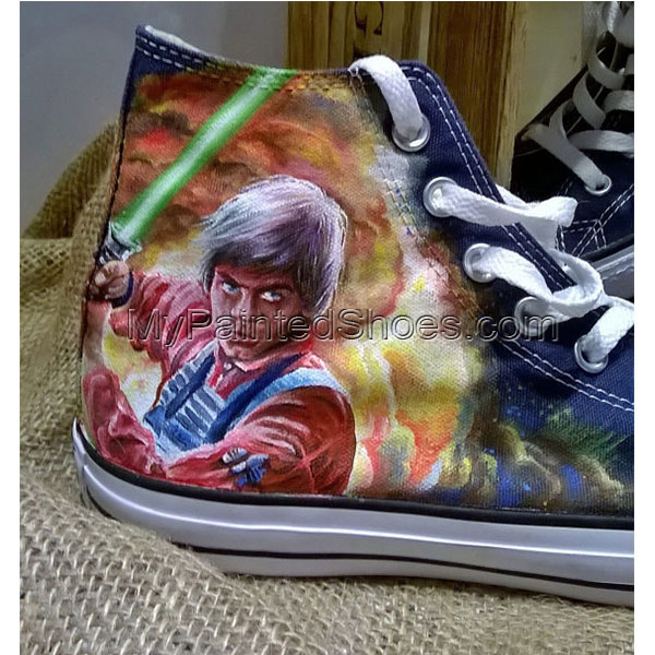 Star Wars hand painted shoes custom Star Wars shoes-3