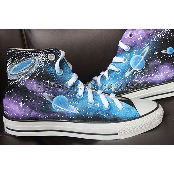 Converse All Star Galaxy Sneaker Galaxy customize canvas shoes-2