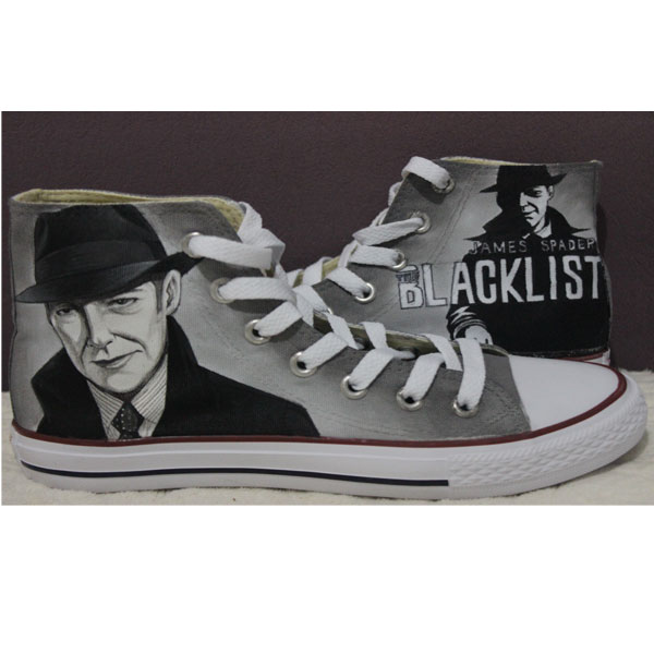 Blacklist Converse All Star Hand Painted Sneakers-1