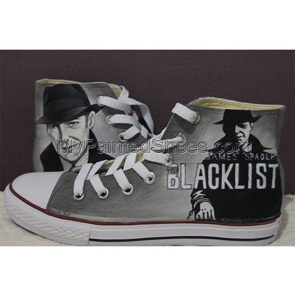 Blacklist Converse All Star Hand Painted Sneakers