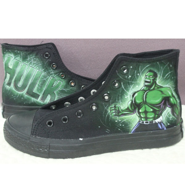 Hulk Chuck Taylor All Star Classic Canvas Lo Sneakers