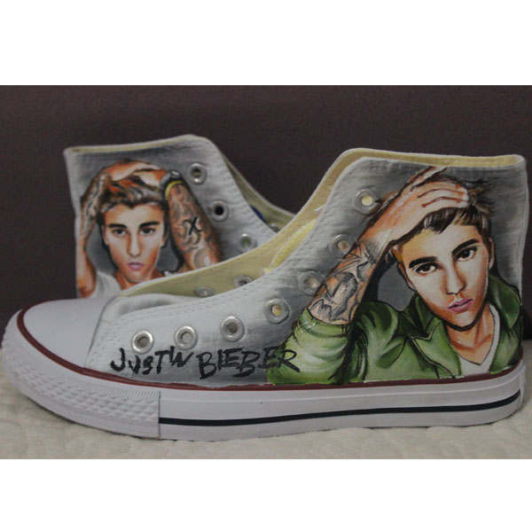 Justin Bieber Converse All Star Shoes Online Buy Wholesale Hight