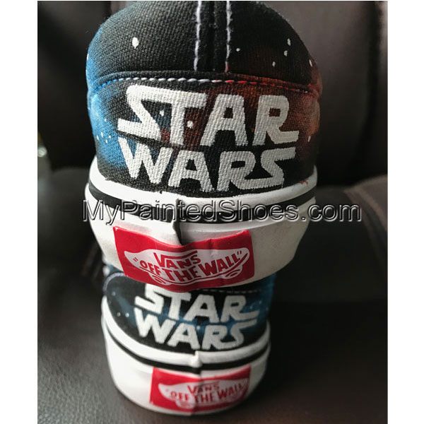 Hand painted Star Wars Sneakers for Adults Star Wars Sneakers fo-2