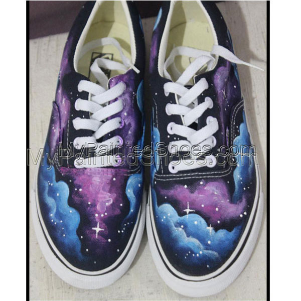 galaxy hand painted shoes for sale galaxy shoes Vans