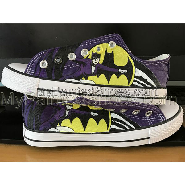 Harley Quinn Custom Converse Shoes unisex adult shoes-2