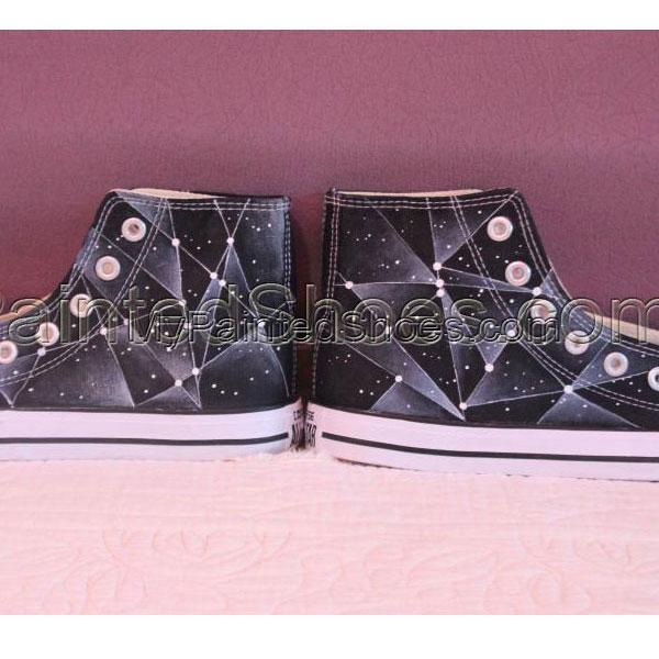 Galaxy Converse Chuck Taylor Men Women High Top Canvas Sneakers-2
