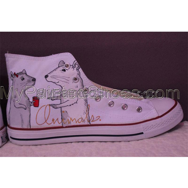 Converse Pet portrait sneakers custom dog shoes gifts-2
