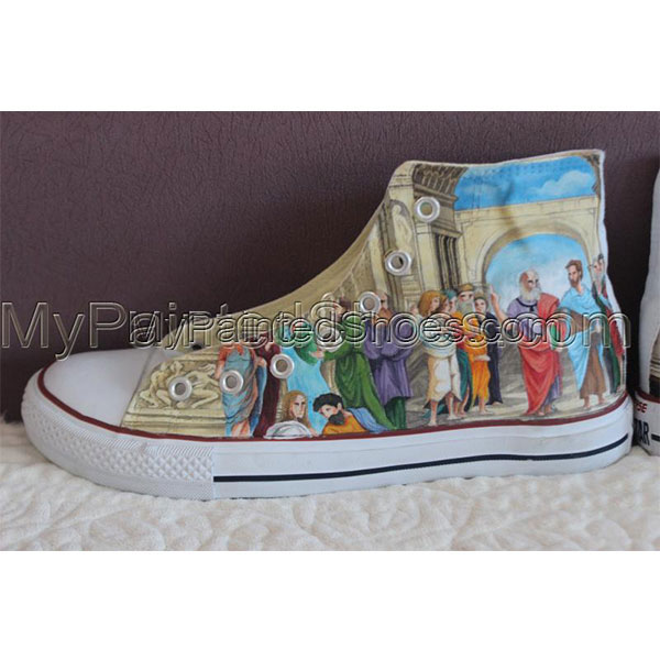 Customized converse painted sneakers hand painted converse-3
