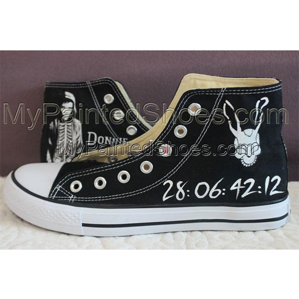 Donnie Darko Custom Converse Hand Painted Donnie Darko Converse-1