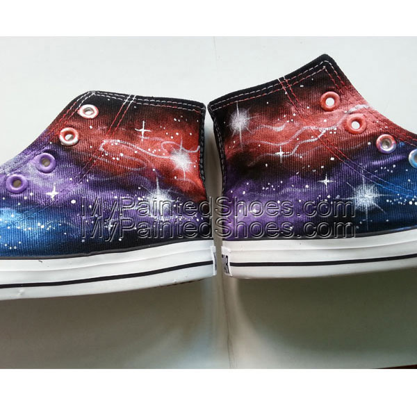 Galaxy Converse Sneakers Custom shoes-1