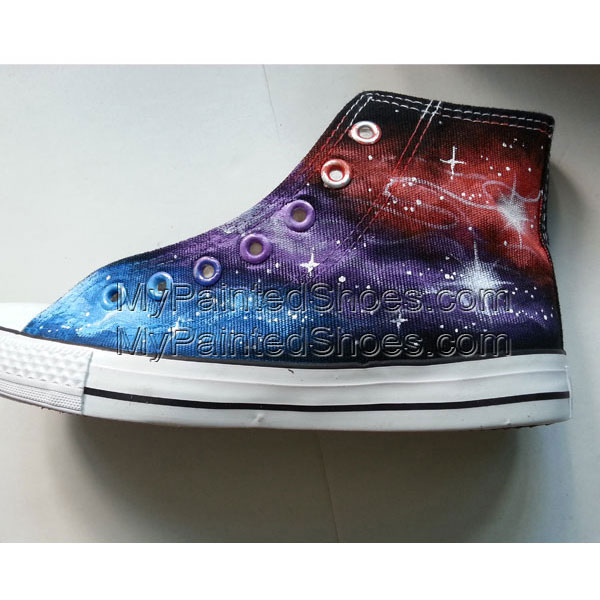 Galaxy Converse Sneakers Custom shoes-3