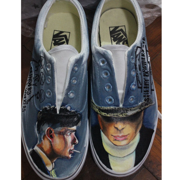 Vans Laces Custom Mens Womens Shoes Hand Painted Man Woman Vans-1
