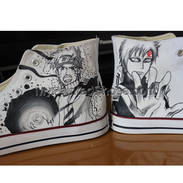 Naruto Anime Gifts Custom Converse Unique Gifts Painted Converse-3