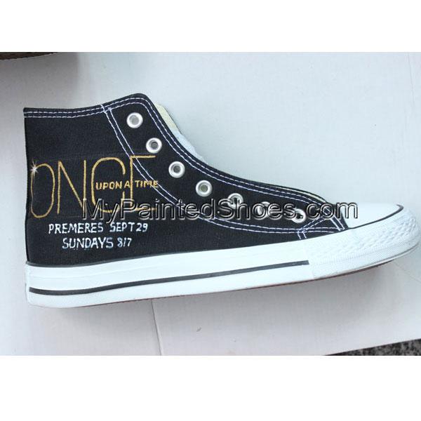 Customized Converse Once Upon a Time High Tops-1
