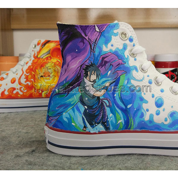 Anime Design Converse All Star Sneakers Hand Painted Shoes-2