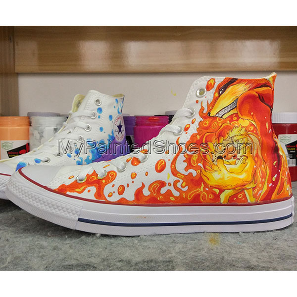 Anime Design Converse All Star Sneakers Hand Painted Shoes-3