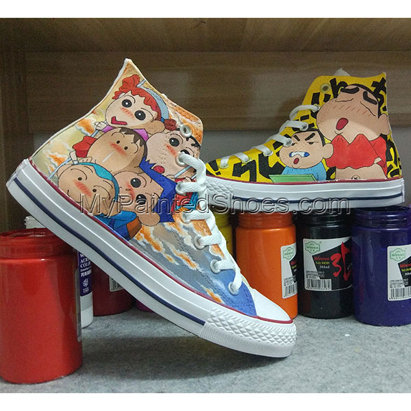 Anime Converse All Star Hand Painted Shoes Unisex Sneakers
