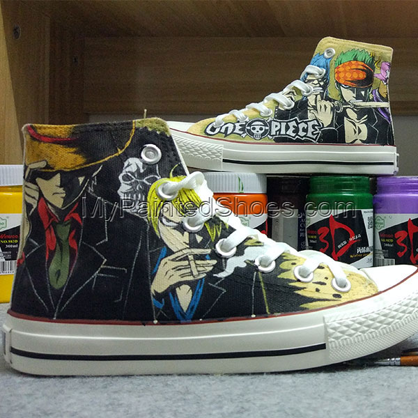 Anime One Piece Converse Chuck Taylor One Piece Converse All Sta