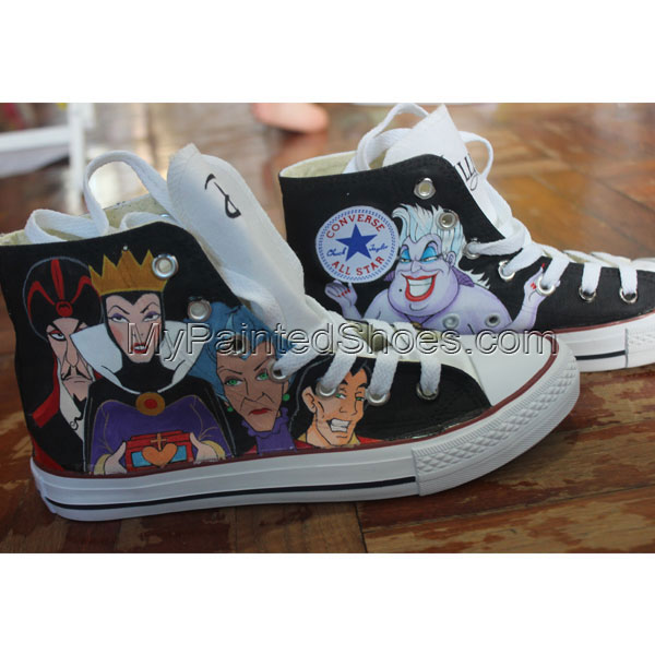 Hand Painted Sneakers Custom Sneakers Hand Painted Shoe Converse-2