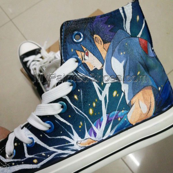 naruto custom shoes naruto shoes converse hand painted shoes