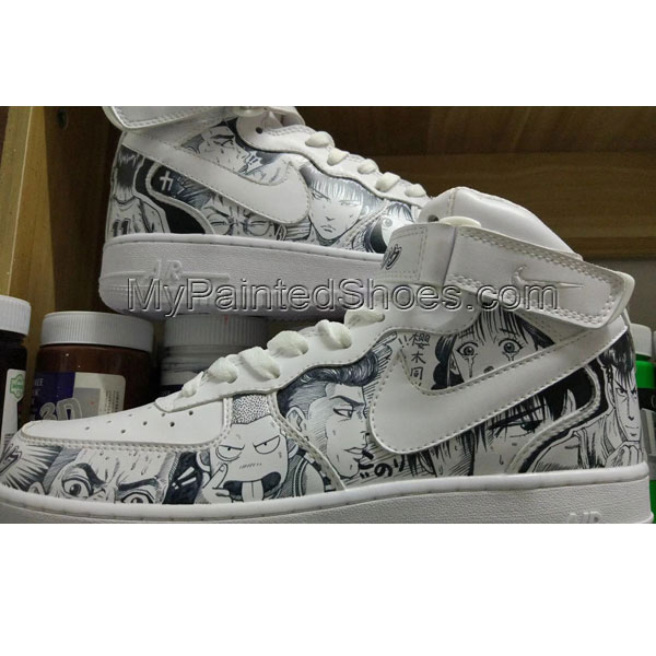customize nike hand painted shoes anime nike shoes