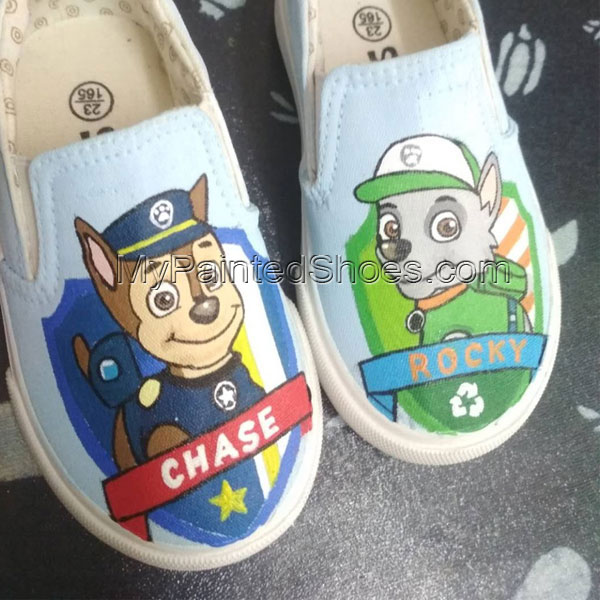 273c2556d22f19 paw patrol shoes painted vans for sale custom vans shoes