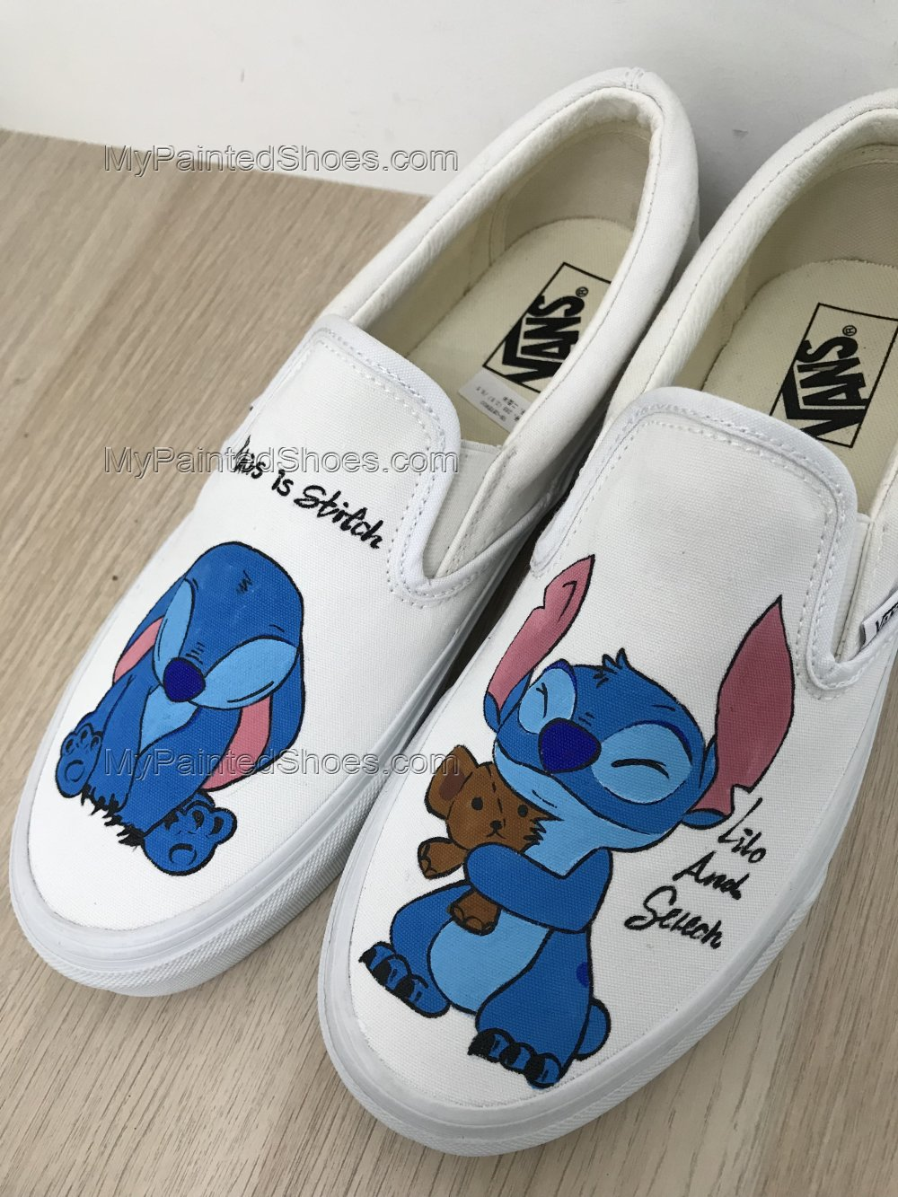 Lilo and Stitch Vans Shoes Lilo and Stitch Shoes for Women Anime-2