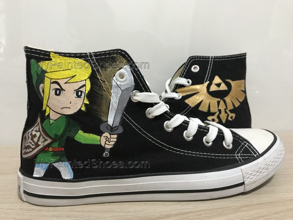 The Legend of Zelda Shoes Custom Shoes For Men Painted Shoes-1