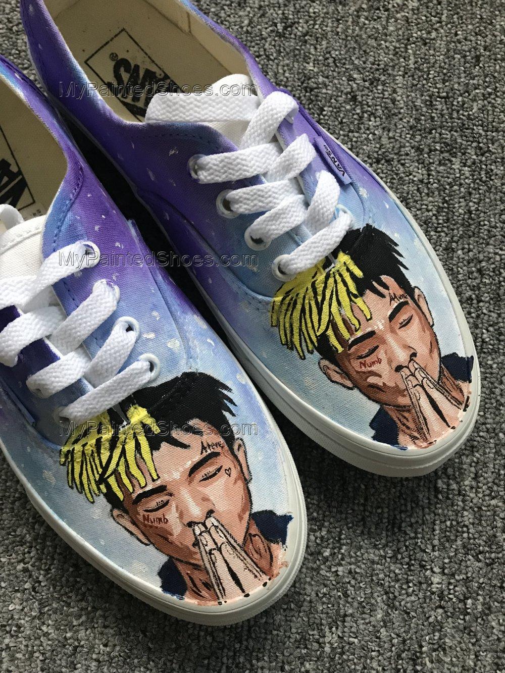 XXXTentacion Vans Custom Favorite Musician Vans-1