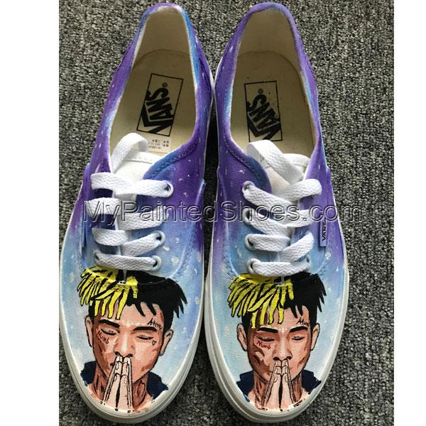 XXXTentacion Vans Custom Favorite Musician Vans