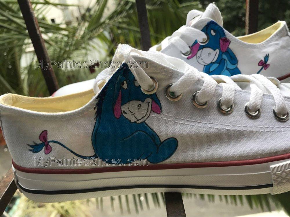 Eeyore Shoes Eeyore Sneakers Anime Shoes Women's Men's Kid's-1