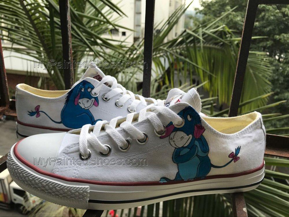 Eeyore Shoes Eeyore Sneakers Anime Shoes Women's Men's Kid's-3