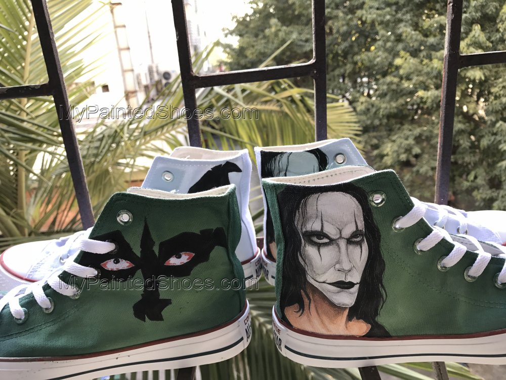 Custom Painted Shoes ERIC DRAVEN Sneakers Chuck Taylors-2
