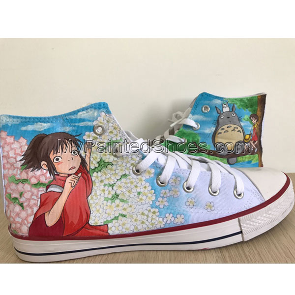 My Neighbor Totoro High Tops Totoro Sneakers Anime Shoes