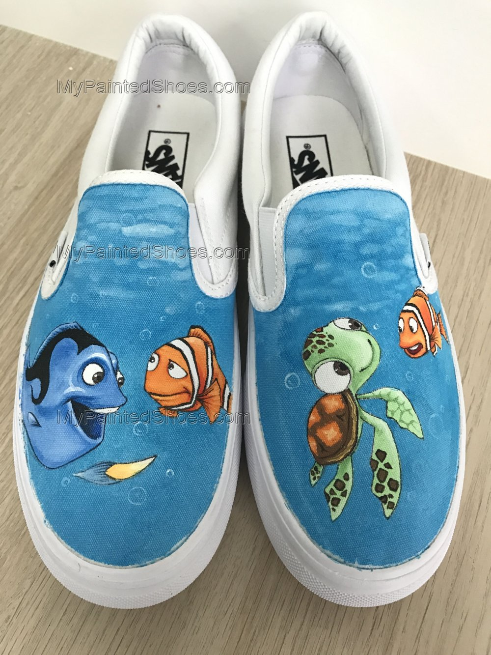 Finding Nemo Vans Custom Hand Painted Shoes-3