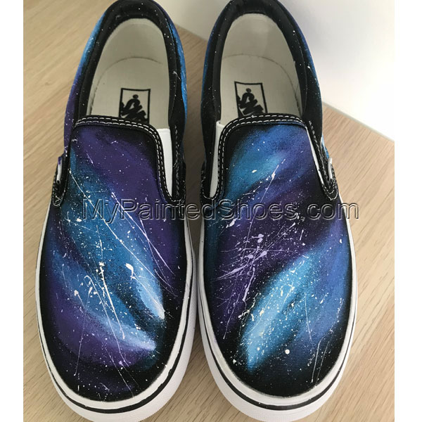 Galaxy Vans Custom Galaxy Shoes Vans Custom Hand Painted Shoes H